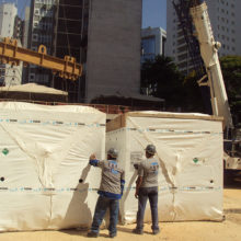 Delegacia da Receita Federal - Ed. Sede Belo Horizonte - Içamento Central de Água Gelada