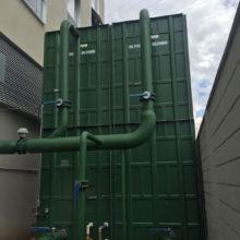 EPO Tower - Tubulação de Água Condensada da Torre de Resfriamento