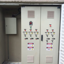 EPO Tower - Quadro eletrico e de Automação