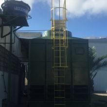 Ed. Sede Policia Federal Alagoas - Torre de refriamento