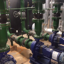 Sindicato dos Metalurgicos de Betim - Bombas de Agua gelada primárias, secundárias e de condensação 1