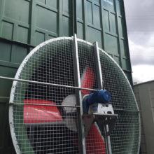 EPO Tower - Ventilador da Torre de Resfriamento