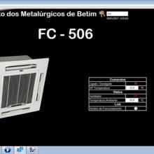 Sindicato dos Metalurgicos de Betim - Supervisório do Sistema BMS de Automação 1