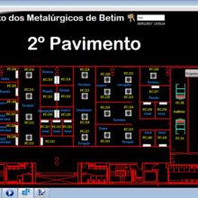 Sindicato dos Metalurgicos de Betim - Supervisório do Sistema BMS de Automação 3