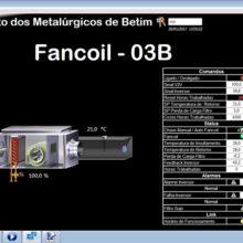 Sindicato dos Metalurgicos de Betim - Supervisório do Sistema BMS de Automação 4