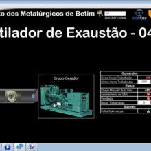 Sindicato dos Metalurgicos de Betim - Supervisório do Sistema BMS de Automação 5