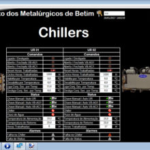 Sindicato dos Metalurgicos de Betim - Supervisório do Sistema BMS de Automação 9