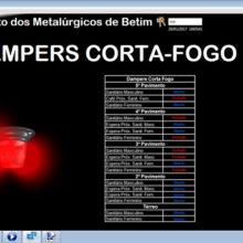 Sindicato dos Metalurgicos de Betim - Supervisório do Sistema BMS de Automação 10